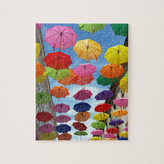Roof of umbrellas jigsaw puzzle