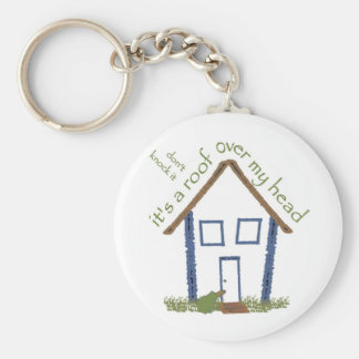 Roof over my head key ring