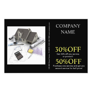 Roofing Flyers Zazzle Com Au