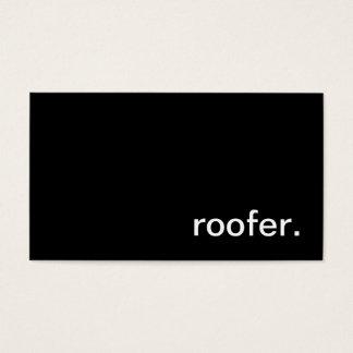 Roofer Business Card