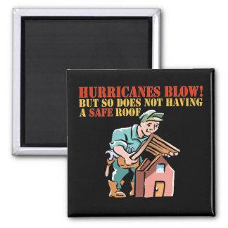 Roofer Construction Hurricane Damage Magnet
