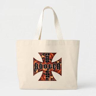 Roofer Hard Core Jumbo Tote Bag