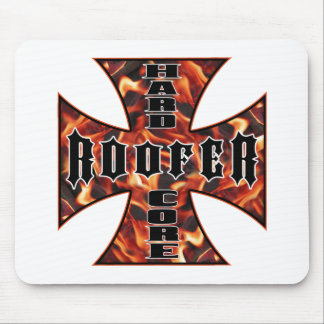 Roofer Hard Core Mouse Mats