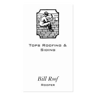 Roofer Pack Of Standard Business Cards