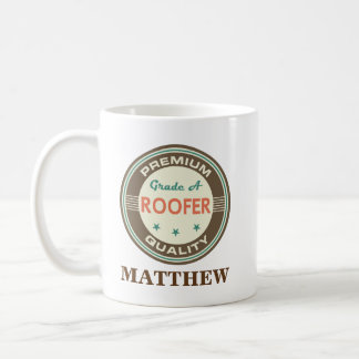 Roofer Personalized Office Mug Gift