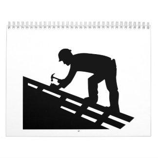 Roofer Wall Calendar