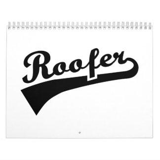 Roofer Wall Calendars