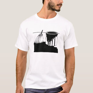 Roofers Tee Shirt Tar Bucket