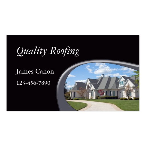 Roofing Business Card