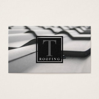Roofing Co. Business Card
