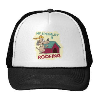 Roofing Dog Hats