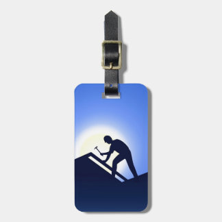 Roofing Luggage Tags