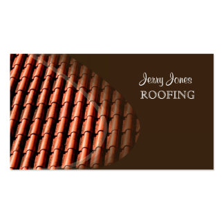 Roofing photo business cards