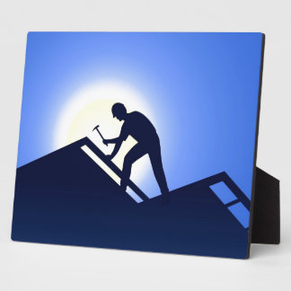 Roofing Display Plaque