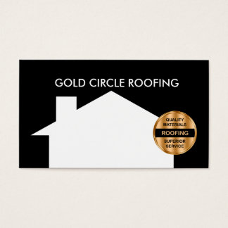 Roofing Service Business Cards