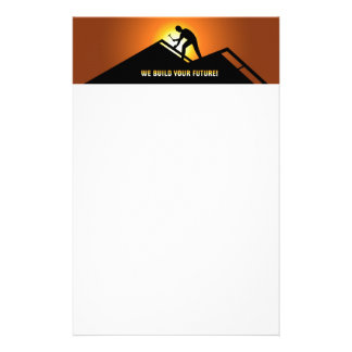 Roofing Stationery Design