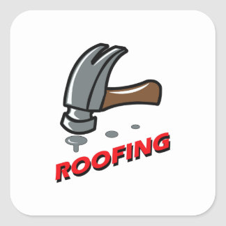 ROOFING SQUARE STICKER