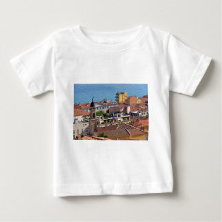 Roofs and Basilica at Menton in France Baby T-Shirt