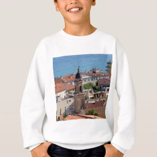 Roofs and Basilica at Menton in France Sweatshirt