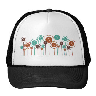 Roofs Daisies Mesh Hat