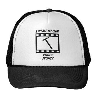 Roofs Stunts Trucker Hats