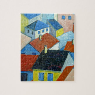 Rooftops jigsaw puzzle