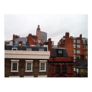 Rooftops of London Postcard