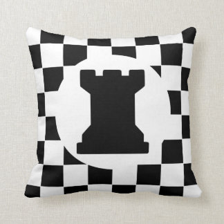 Rook Chess Piece - Pillow - Chess Themed Gift