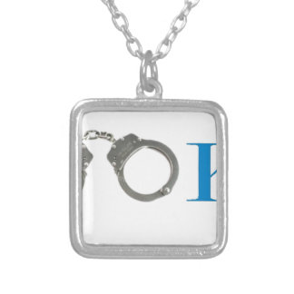 Rookie Police In Training Future Silver Plated Necklace
