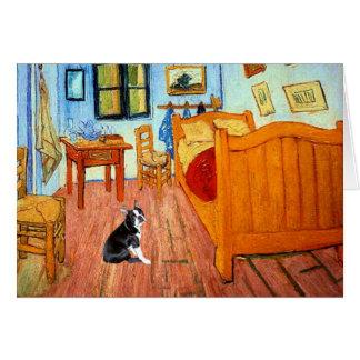 Room - Boston Terrier 4 Card