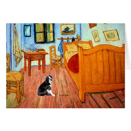 Room - Boston Terrier #4 Card