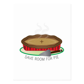 Room For Pie Postcard