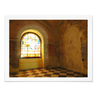 Room in Cathedral of San Juan Bautista Photo Print