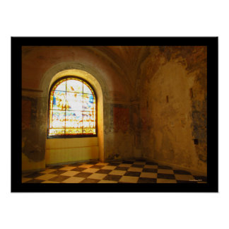 Room in Cathedral of San Juan Bautista Poster