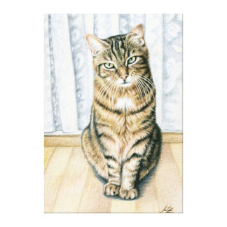 Room tiger - Room tiger Canvas Print