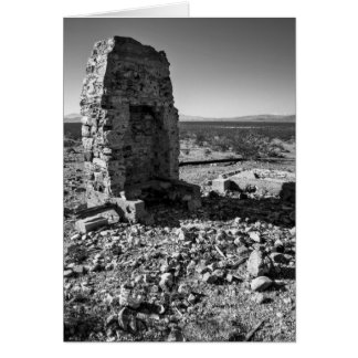 Room With A View B/W Greeting Card