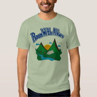 Room with a View Blue Logo Tshirt