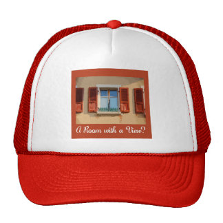Room with a View Cap Mesh Hats