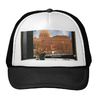 Room with a view decorative photograph urban livin mesh hat
