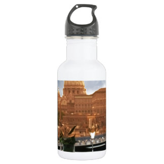 Room with a view decorative photograph urban livin 532 ml water bottle