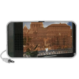 Room with a view decorative photograph urban livin notebook speakers