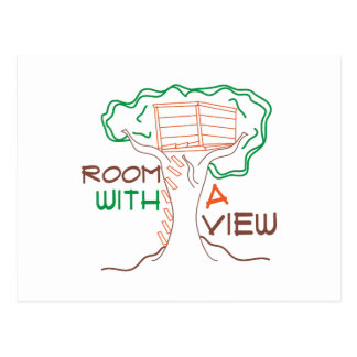 Room With View Postcard