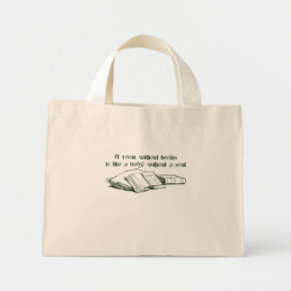Room Without Books Mini Tote Bag
