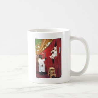Roosevelt Bears on a Train in the Sleeping Car Coffee Mug