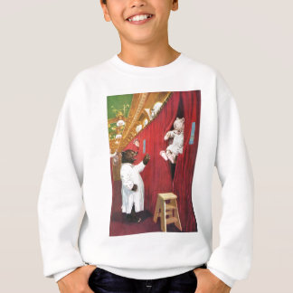 Roosevelt Bears on a Train in the Sleeping Car Sweatshirt
