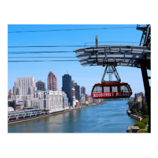 Roosevelt Island Tram Postcard