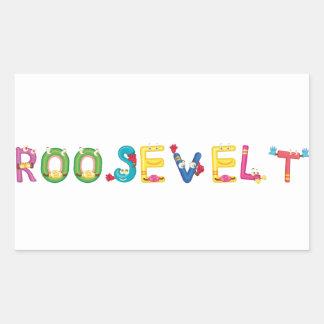 Roosevelt Sticker
