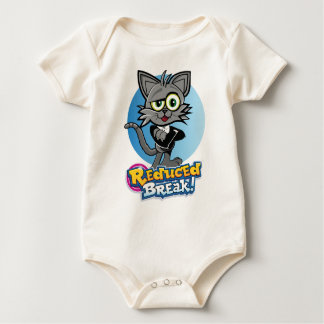 Rooskie is the crazy video cat at Reduced Break. Baby Bodysuit