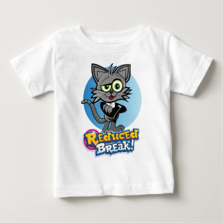 Rooskie is the crazy video cat at Reduced Break. Baby T-Shirt