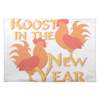 Roost In New Year Placemat